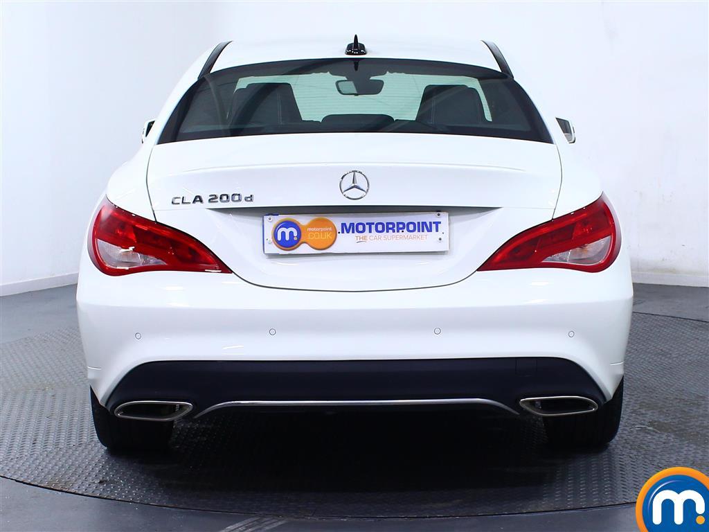 Mercedes-Benz Cla Class Sport Manual Diesel Coupe - Stock Number (975110) - Rear bumper