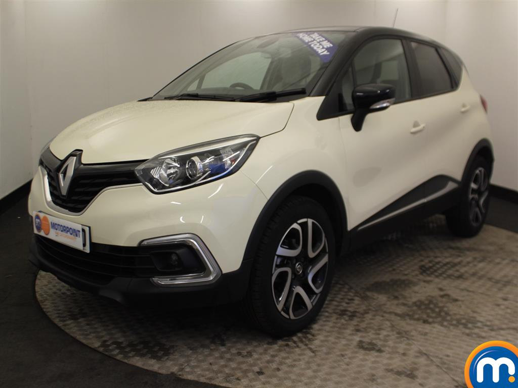 Renault Captur Iconic Manual Petrol Hatchback - Stock Number (966582) - Passenger side front corner