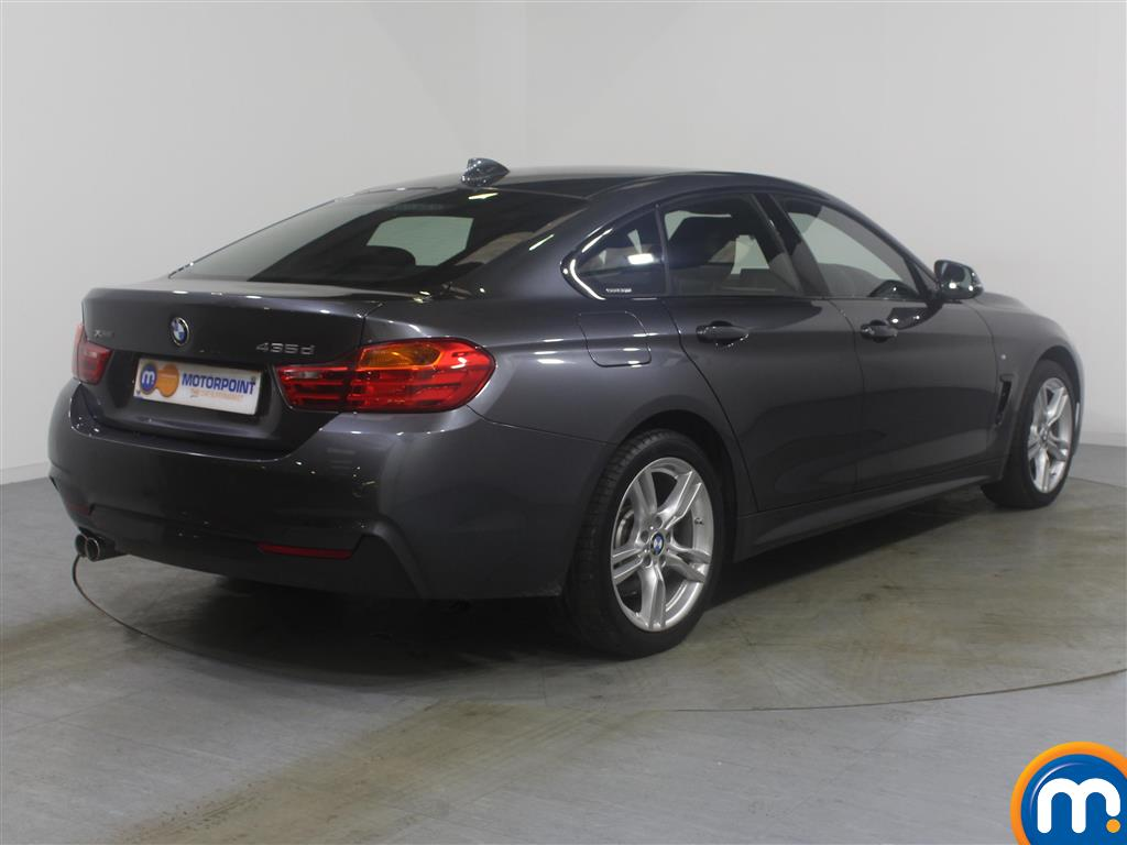 BMW 4 Series M Sport Automatic Diesel Coupe - Stock Number (974832) - Drivers side rear corner