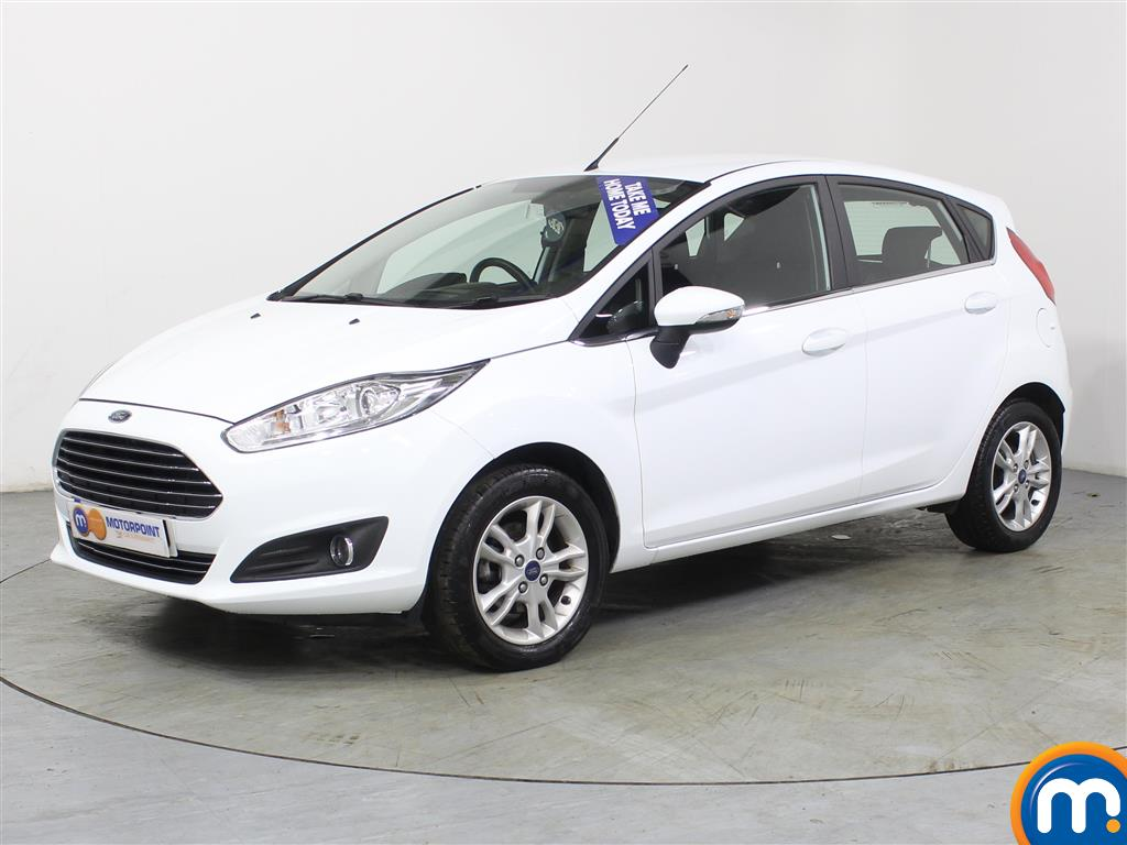 Ford Fiesta Zetec - Stock Number (970257) - Passenger side front corner