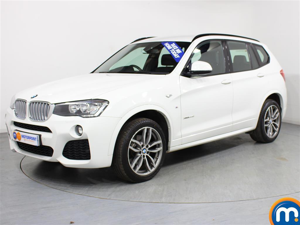 BMW X3 M Sport - Stock Number (975762) - Passenger side front corner