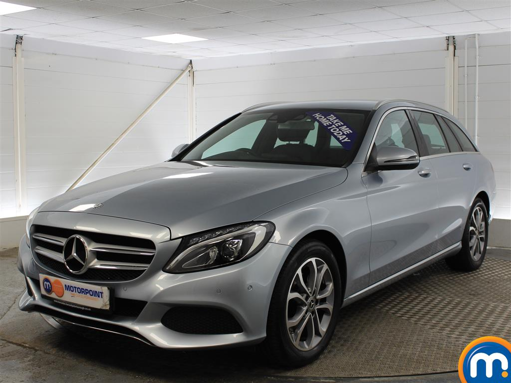 Mercedes-Benz C Class Sport - Stock Number (976573) - Passenger side front corner
