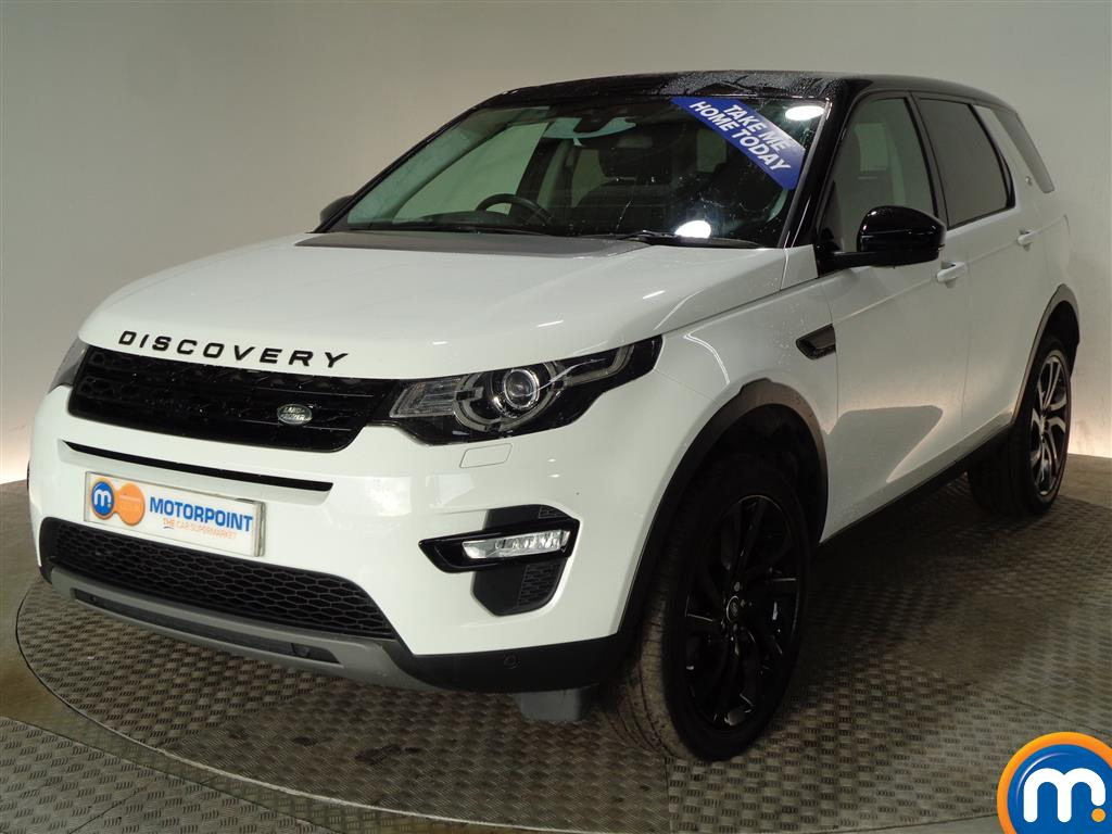 Land Rover Discovery Sport HSE Black - Stock Number (974688) - Passenger side front corner
