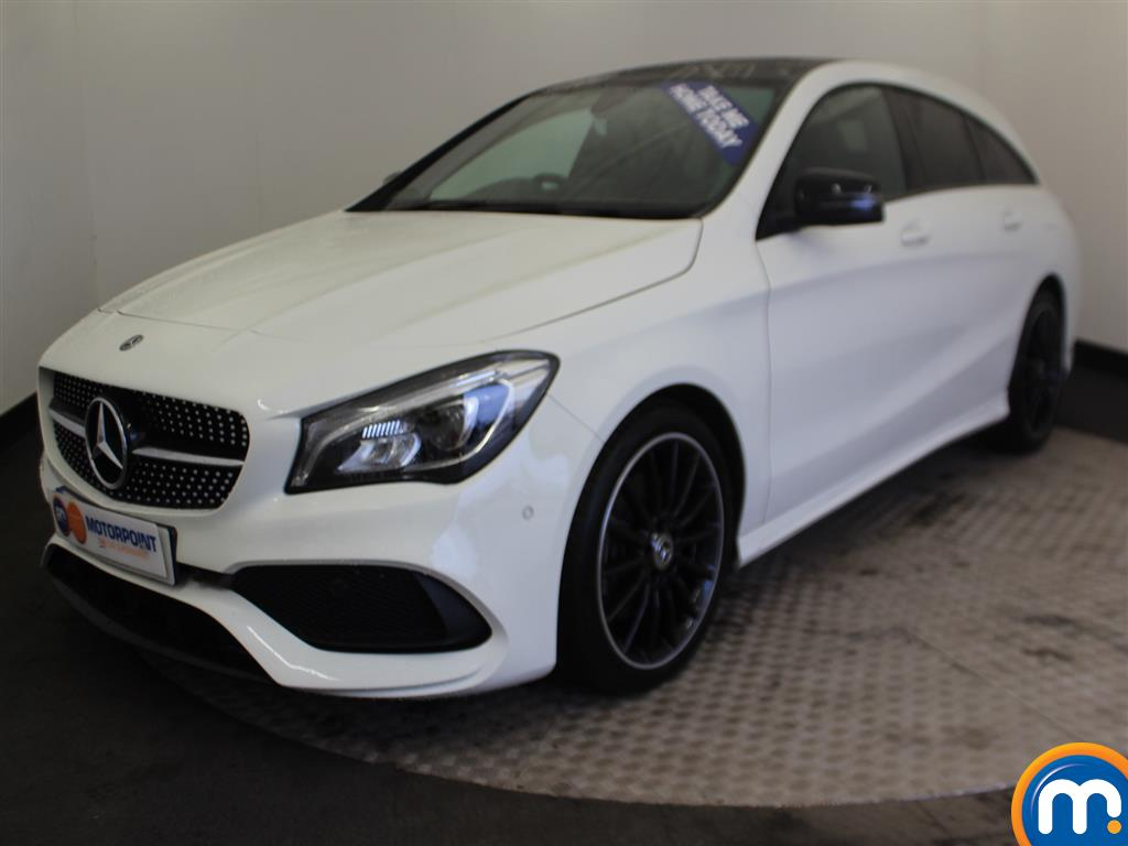 Mercedes-Benz Cla Class AMG Line - Stock Number (978895) - Passenger side front corner