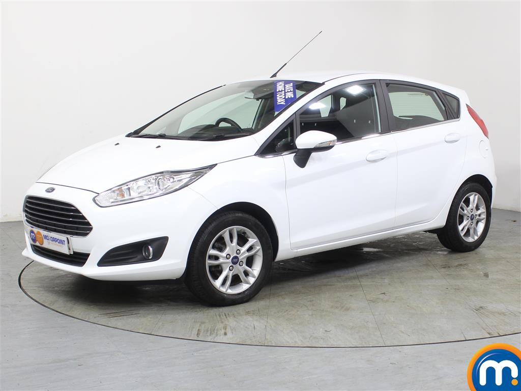 Ford Fiesta Zetec - Stock Number (971952) - Passenger side front corner