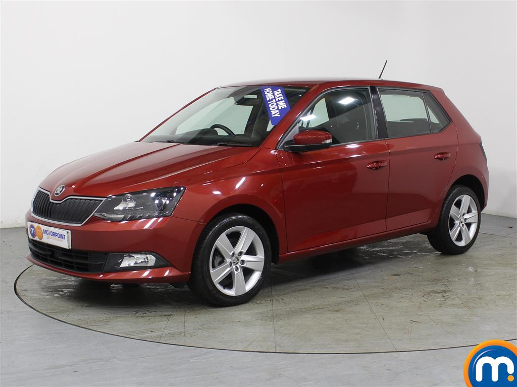 Skoda Fabia Se L Manual Petrol Hatchback - Stock Number (975216) - Passenger side front corner