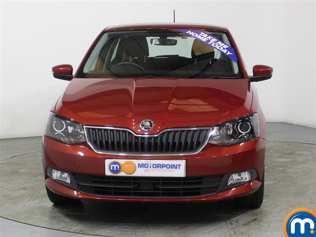 Skoda Fabia Se L Manual Petrol Hatchback - Stock Number (975216) - Front bumper
