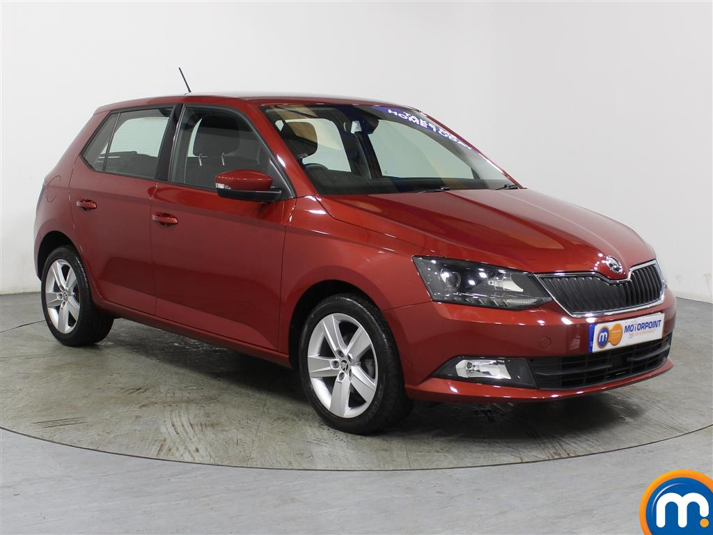 Skoda Fabia Se L Manual Petrol Hatchback - Stock Number (975216) - Drivers side front corner