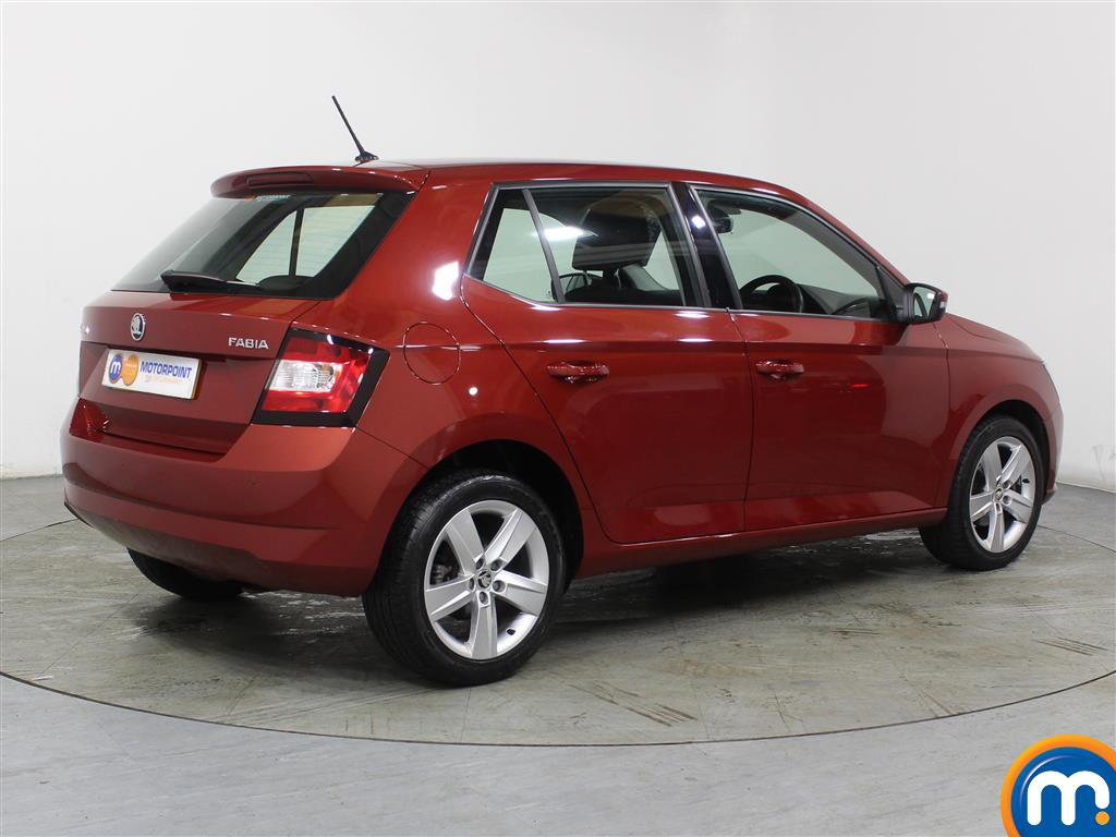 Skoda Fabia Se L Manual Petrol Hatchback - Stock Number (975216) - Drivers side rear corner