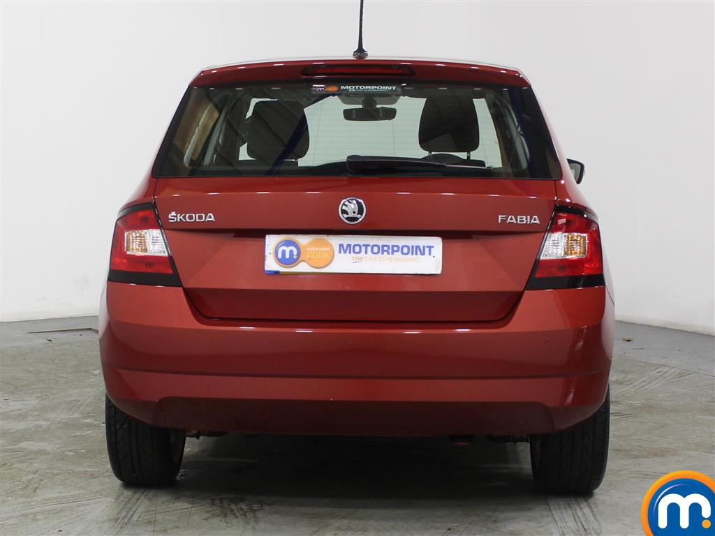 Skoda Fabia Se L Manual Petrol Hatchback - Stock Number (975216) - Rear bumper