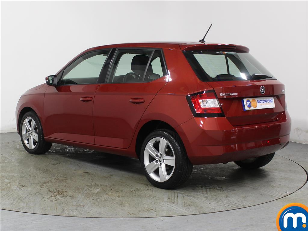 Skoda Fabia Se L Manual Petrol Hatchback - Stock Number (975216) - Passenger side rear corner