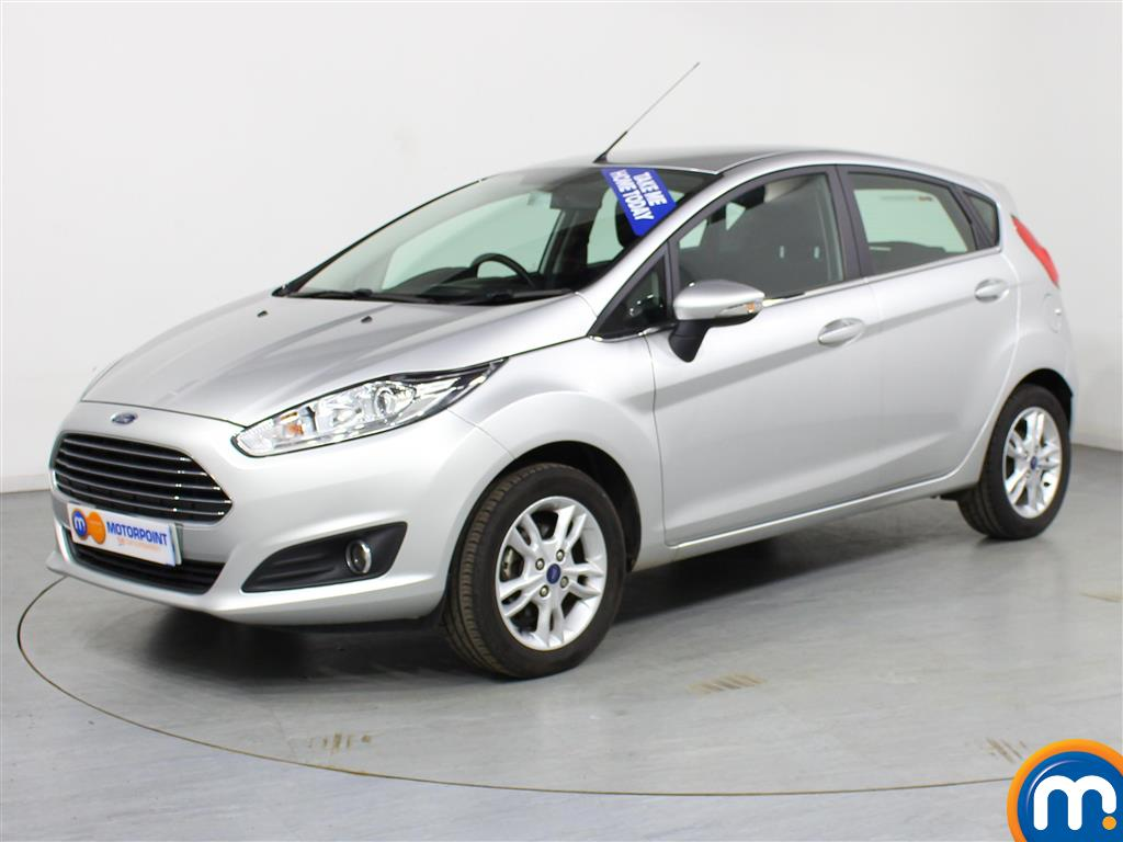 Ford Fiesta Zetec - Stock Number (981523) - Passenger side front corner