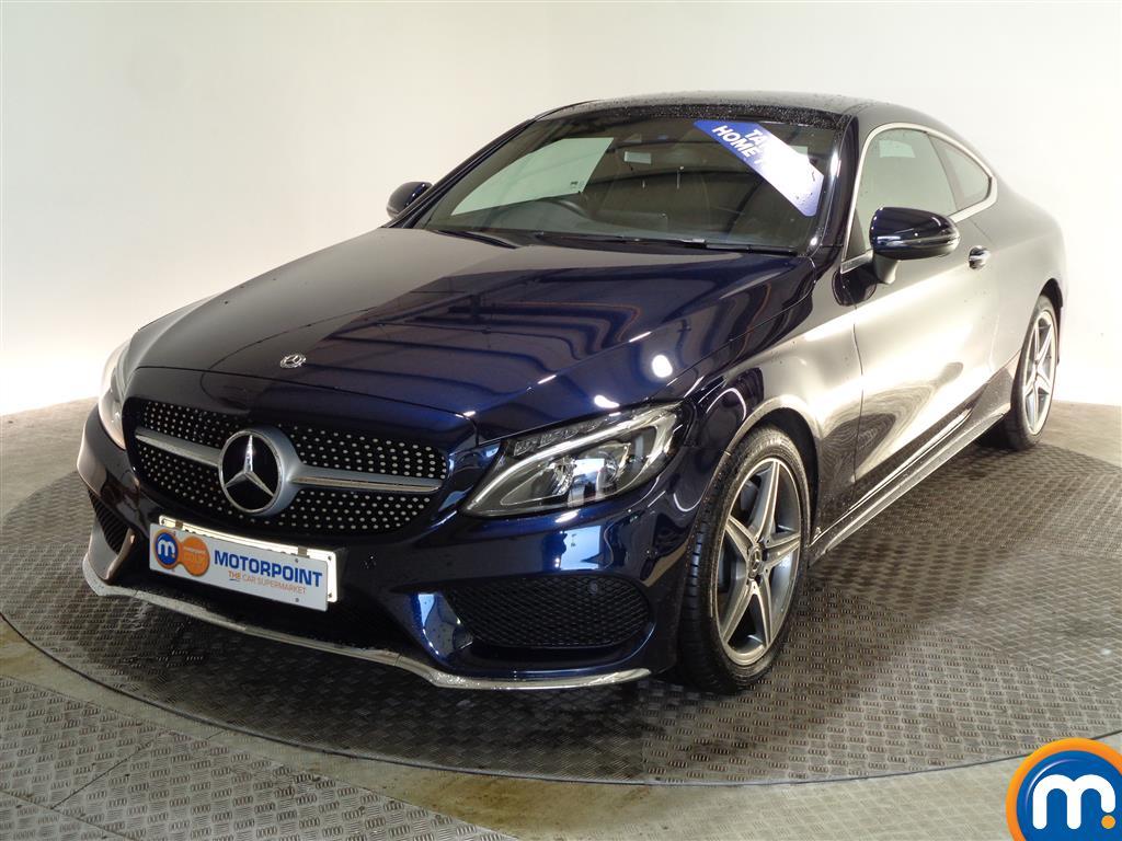 Mercedes-Benz C Class AMG Line - Stock Number (976656) - Passenger side front corner