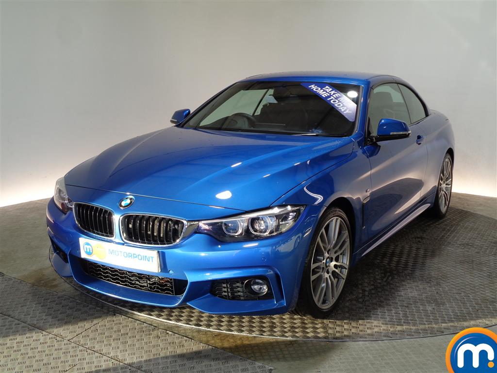 BMW 4 Series M Sport - Stock Number (981073) - Passenger side front corner