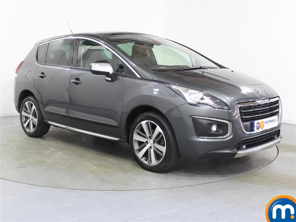 Peugeot 3008 Allure Manual Diesel Estate - Stock Number (974070) - Drivers side front corner