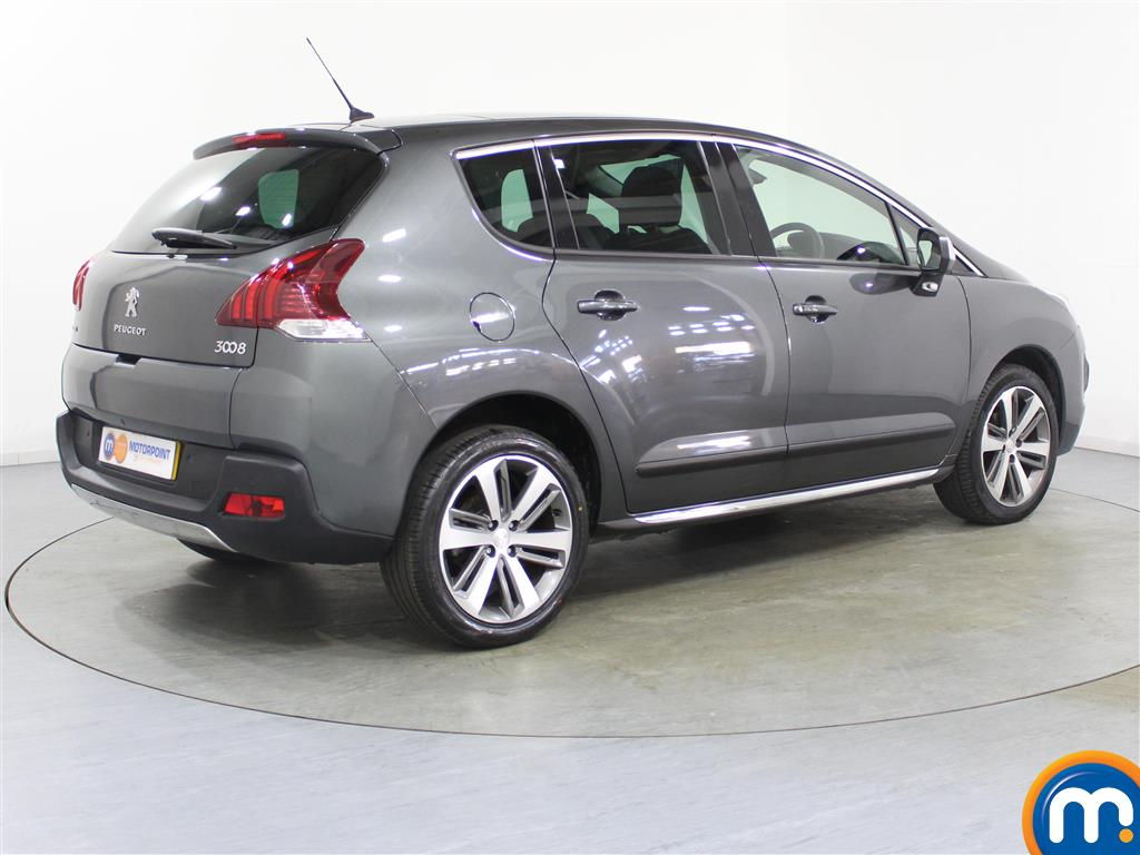 Peugeot 3008 Allure Manual Diesel Estate - Stock Number (974070) - Drivers side rear corner