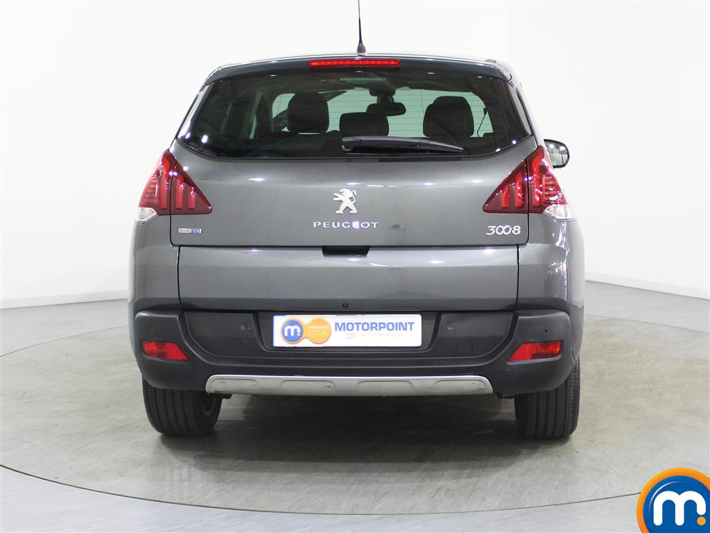 Peugeot 3008 Allure Manual Diesel Estate - Stock Number (974070) - Rear bumper