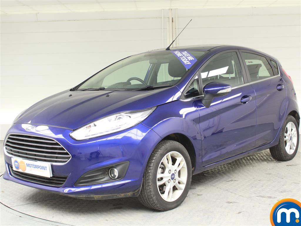 Ford Fiesta Zetec - Stock Number (976205) - Passenger side front corner