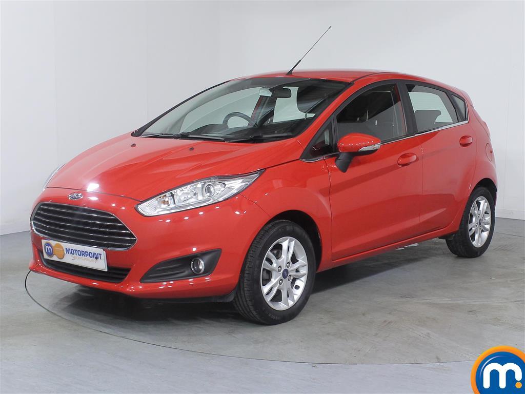 Ford Fiesta Zetec - Stock Number (976389) - Passenger side front corner