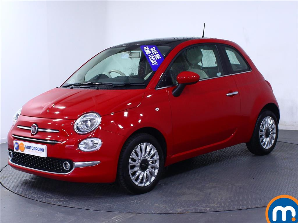Fiat 500 Lounge - Stock Number (979155) - Passenger side front corner