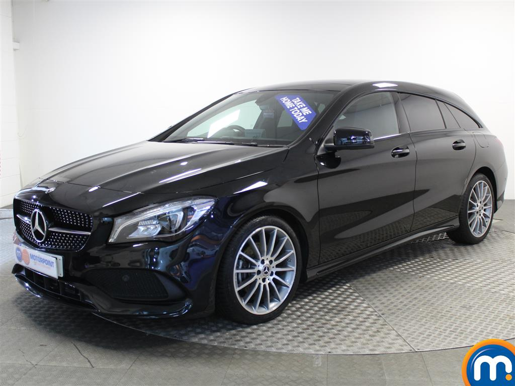Mercedes-Benz Cla Class AMG Line - Stock Number (966560) - Passenger side front corner