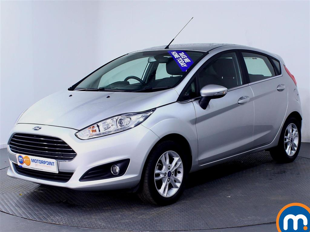 Ford Fiesta Zetec - Stock Number (981528) - Passenger side front corner