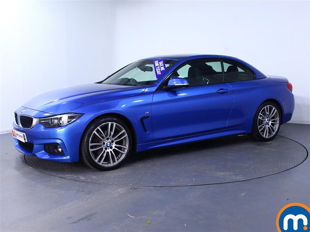 BMW 4 Series M Sport - Stock Number (981057) - Passenger side front corner
