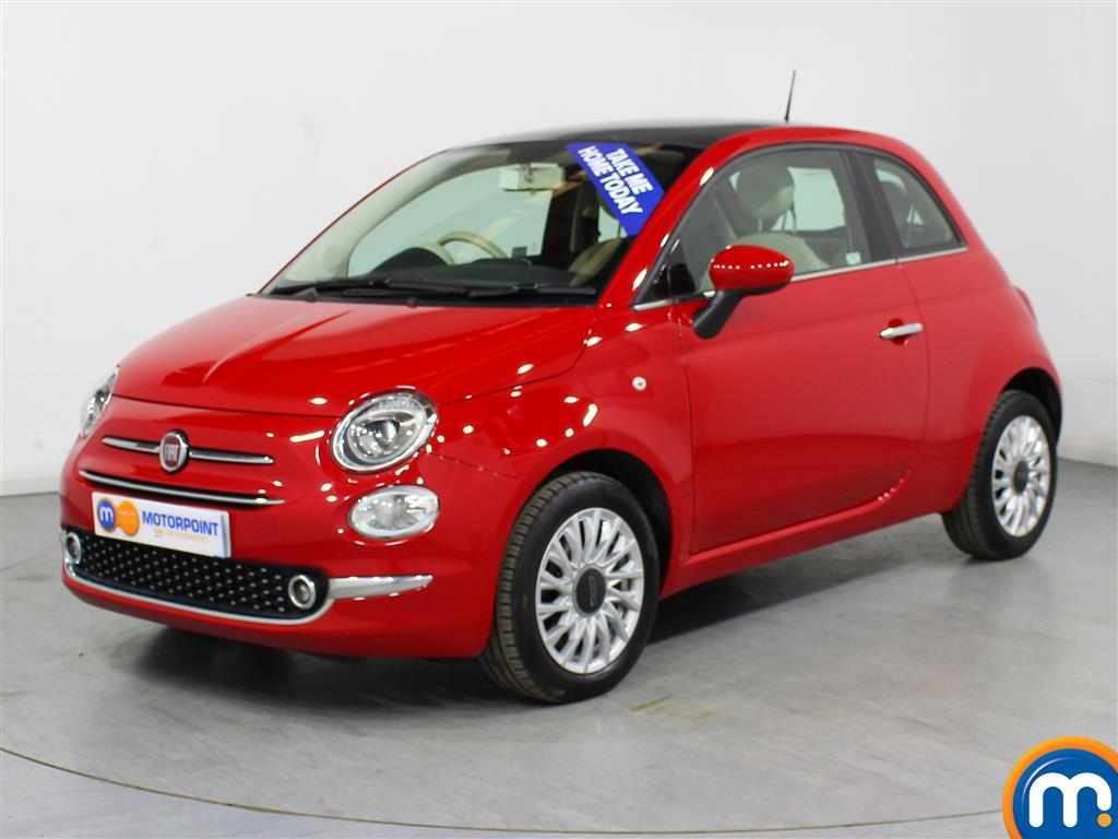 Fiat 500 Lounge - Stock Number (981516) - Passenger side front corner
