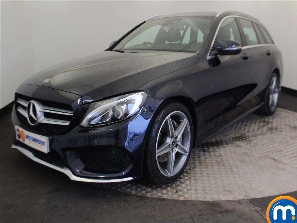 Mercedes-Benz C Class AMG Line - Stock Number (977535) - Passenger side front corner