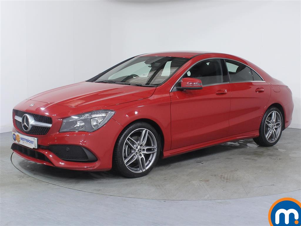 Mercedes-Benz Cla Class AMG Line Edition - Stock Number (967242) - Passenger side front corner