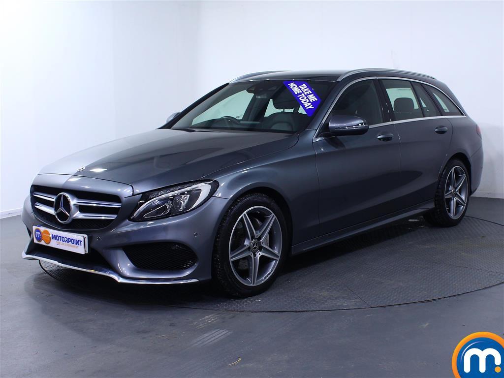 Mercedes-Benz C Class AMG Line - Stock Number (977377) - Passenger side front corner