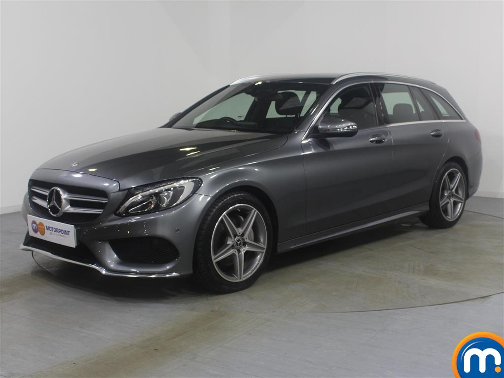 Mercedes-Benz C Class AMG Line - Stock Number (977403) - Passenger side front corner