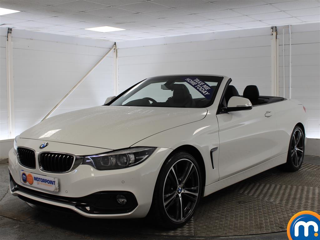 BMW 4 Series Sport - Stock Number (975376) - Passenger side front corner