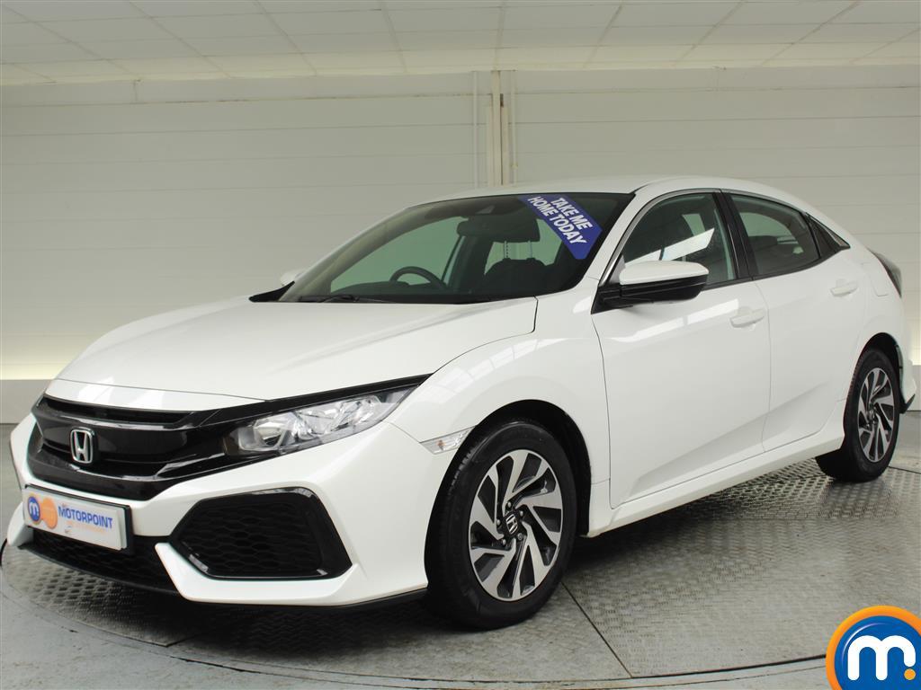 Honda Civic SE - Stock Number (975121) - Passenger side front corner