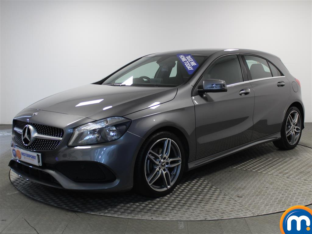 Mercedes-Benz A Class AMG Line - Stock Number (966077) - Passenger side front corner