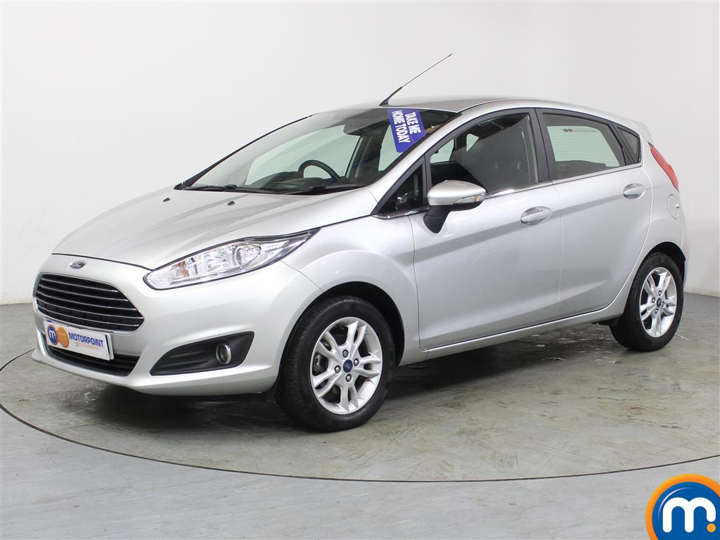 Ford Fiesta Zetec - Stock Number (980267) - Passenger side front corner