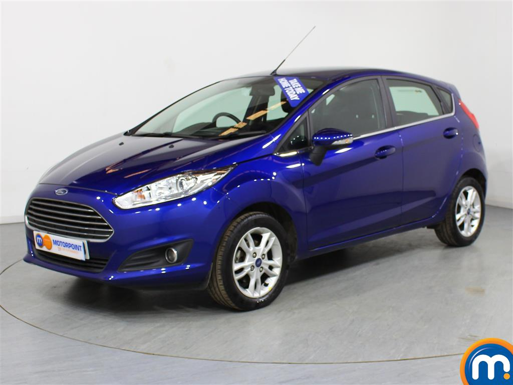 Ford Fiesta Zetec - Stock Number (976744) - Passenger side front corner
