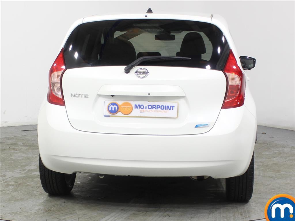 Nissan Note Tekna Manual Diesel Hatchback - Stock Number (971481) - Rear bumper