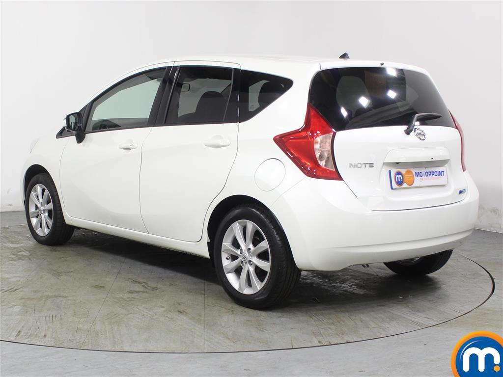 Nissan Note Tekna Manual Diesel Hatchback - Stock Number (971481) - Passenger side rear corner