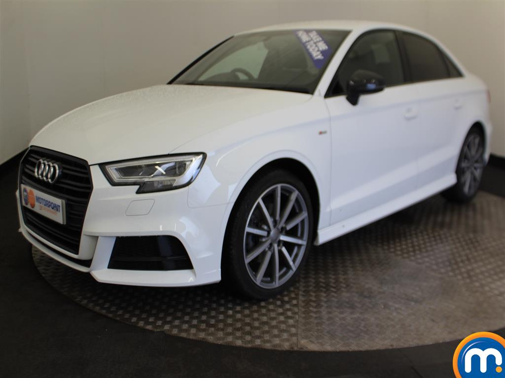Audi A3 Black Edition - Stock Number (983547) - Passenger side front corner