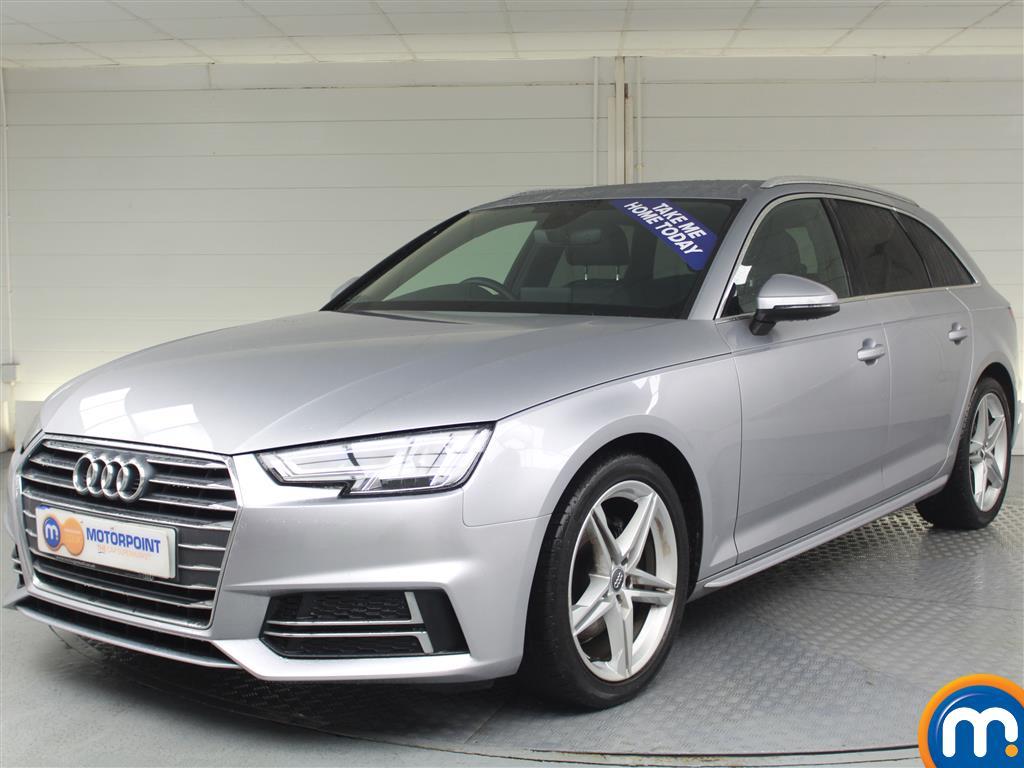 Audi A4 S Line - Stock Number (982532) - Passenger side front corner