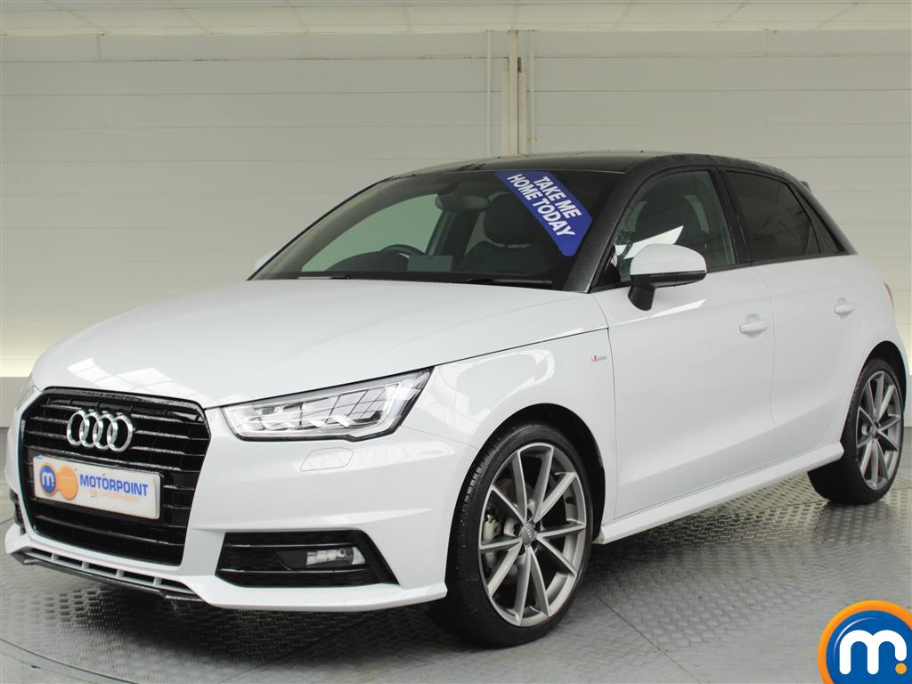 Audi A1 Black Edition Nav - Stock Number (981089) - Passenger side front corner