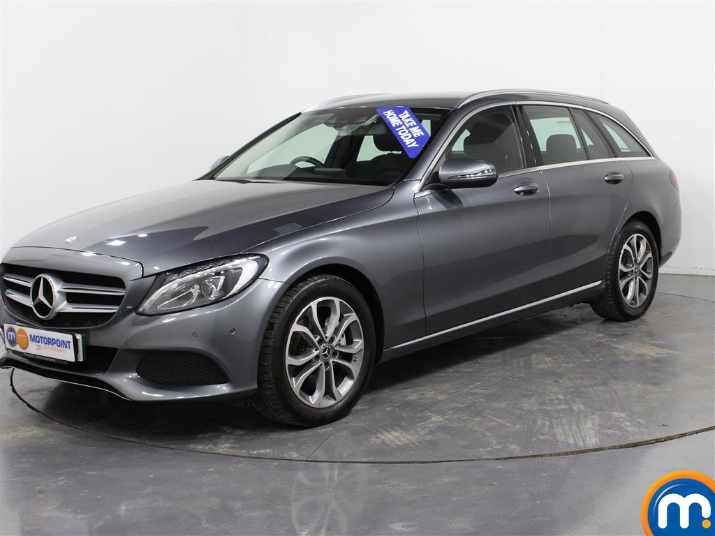 Mercedes-Benz C Class Sport - Stock Number (974366) - Passenger side front corner
