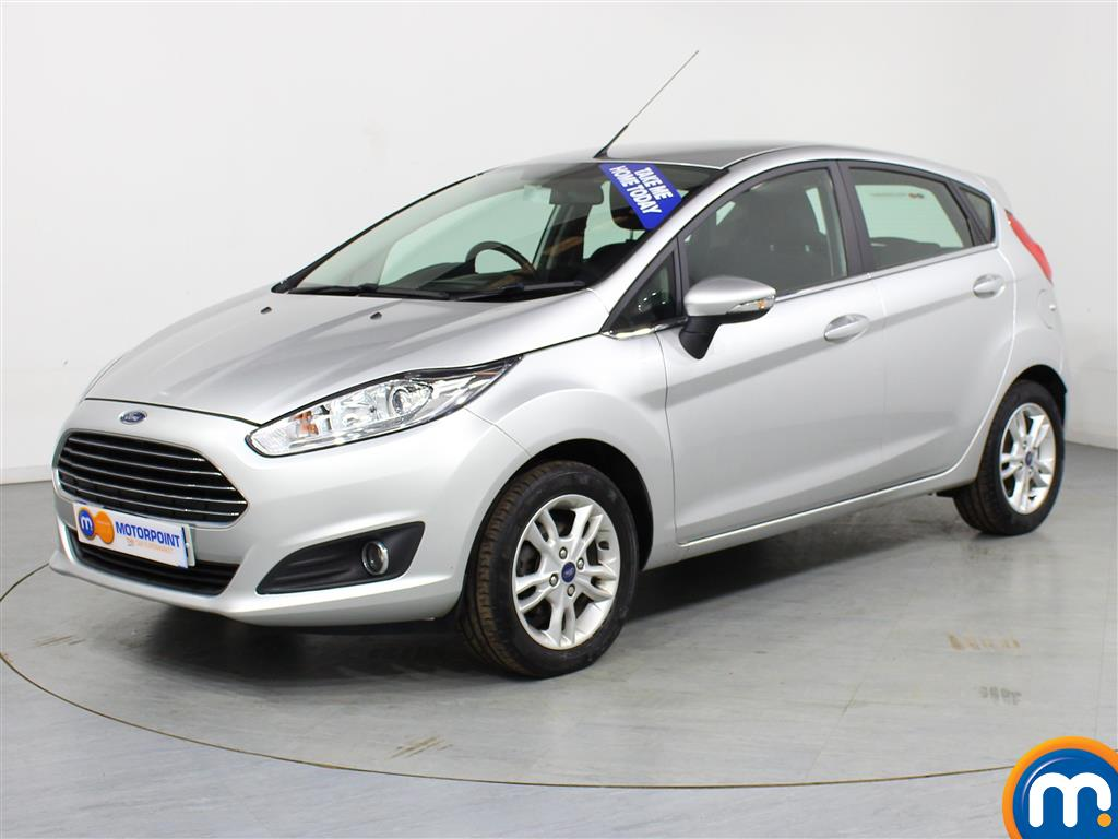 Ford Fiesta Zetec - Stock Number (986145) - Passenger side front corner