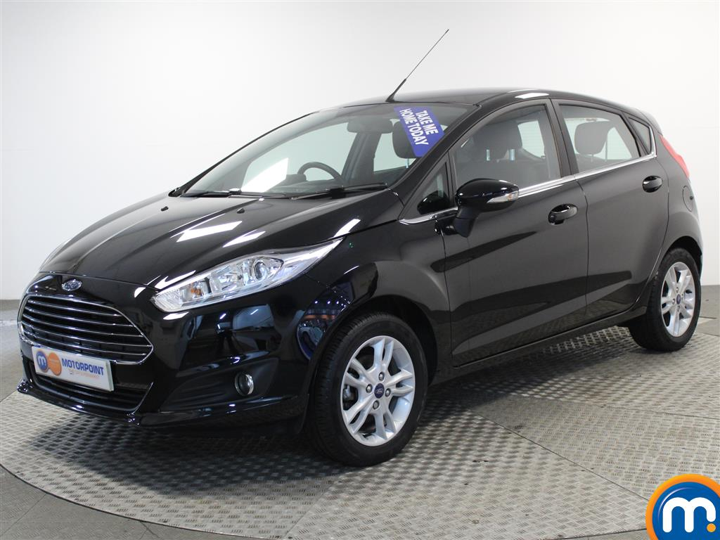 Ford Fiesta Zetec - Stock Number (978526) - Passenger side front corner