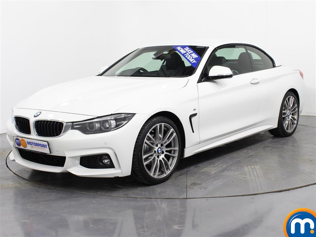 BMW 4 Series M Sport - Stock Number (981061) - Passenger side front corner