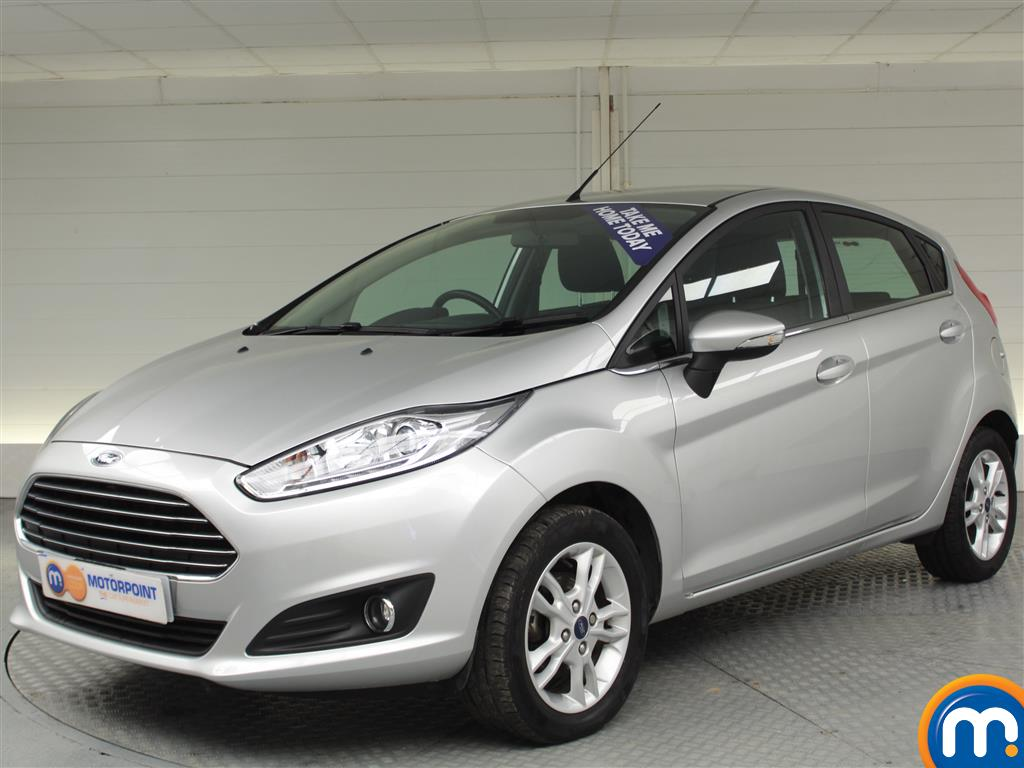Ford Fiesta Zetec - Stock Number (983427) - Passenger side front corner