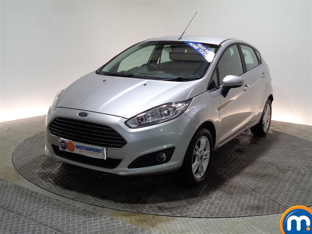 Ford Fiesta Zetec - Stock Number (983013) - Passenger side front corner