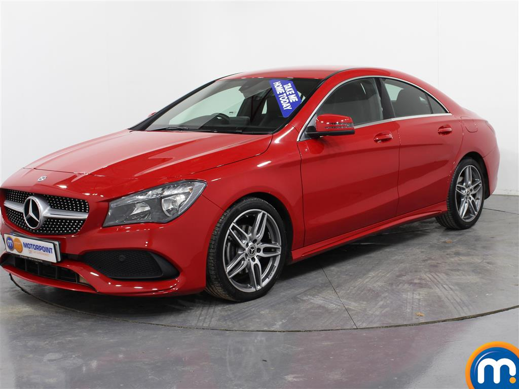 Mercedes-Benz Cla Class AMG Line Edition - Stock Number (972274) - Passenger side front corner