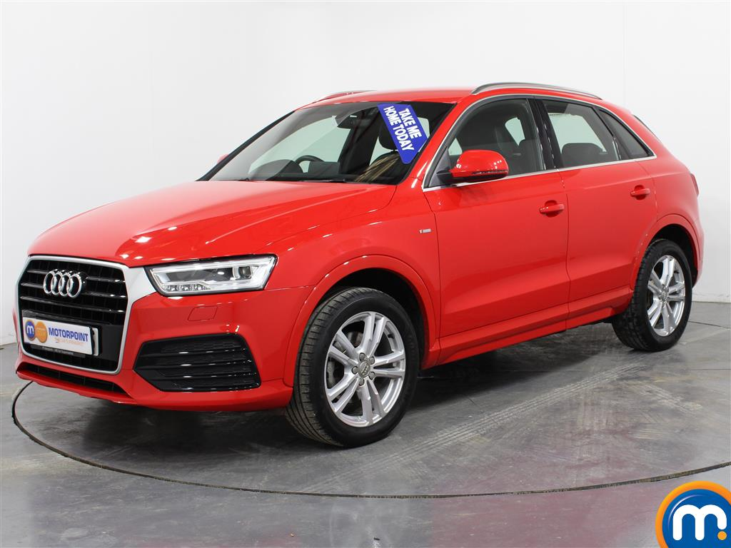 Audi Q3 S Line Navigation - Stock Number (982821) - Passenger side front corner